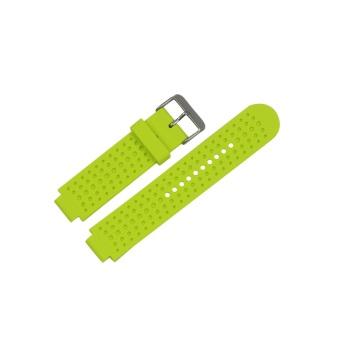 Gambar Produk Perhiasan pengganti silikon Band tali pengikat untuk Garmin Forerunner 220 230 .