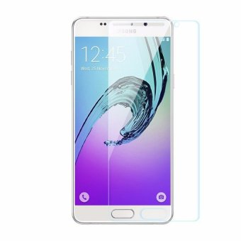 Hunter Tempered Glass Screen Protector for Samsung Galaxy j7 Prime / On 7 2016 - Clear
