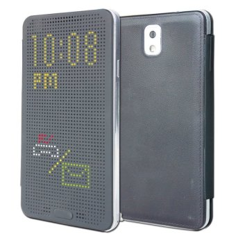 Harga Case Dot View for Samsung Galaxy Note 3 - Hitam