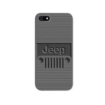 Harga Indocustomcase Jeep Logo Striped iPhone 5/5S Custom Hard Case