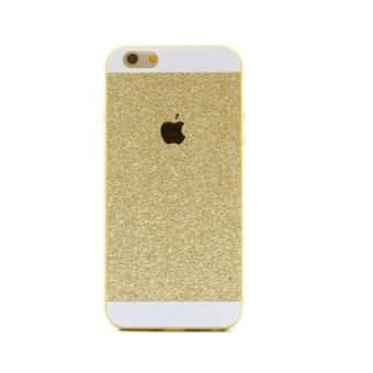 Harga Paroparoshop Glitter Softcase For Iphone 4/4s - Gold