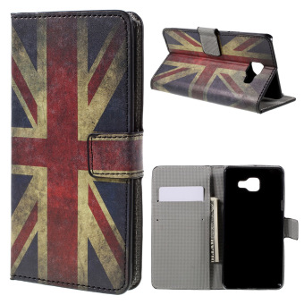 Harga Retro Union Jack Flag PU Leather Flip Cover for Samsung Galaxy A5 (Multicolor) - intl