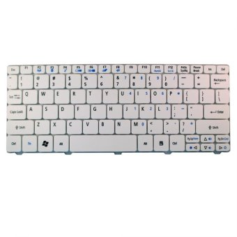 Harga Keyboard Netbook Acer Aspire One Happy, Happy 2 - Putih