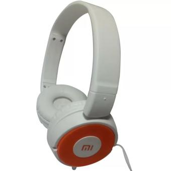 Harga MI LY-188 Headphone With Build-In Mic - (White/Orange)
