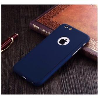 ... Hardcase Case 360 Iphone 6 6s Casing Full Body Cover Biru Dongker Free