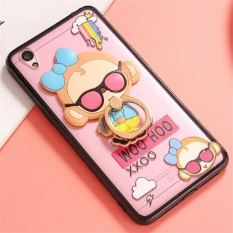 Harga Oppo A37 Cute monkey TPU fashion phone case/fashionpack monkey - intl