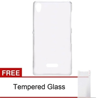 Harga Case Infinix Case Hot Note X551 - Clear + Gratis Tempered Glass