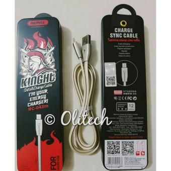 Harga Remax Micro USB Cable Knight Series RC-043m