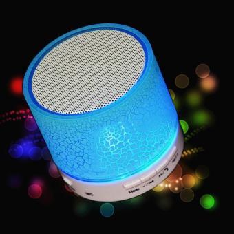 LED MINI Portable Wireless Bluetooth Speaker TF USB Music Sound Subwoofer Box - intl ...