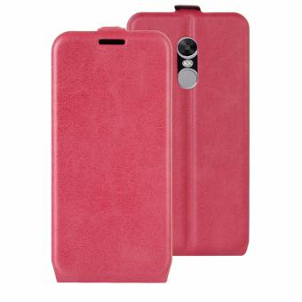 PU Leather Flip Cover Case for Xiaomi Redmi Note 4X - intl