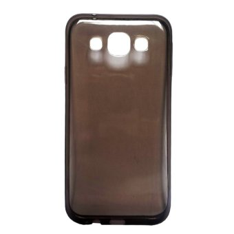 Harga Ultrathin Softcase Alcatel Flash 2 Transparant - Hitam