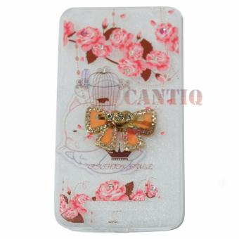 Mr Flipcover Kulit View For Asus Zenfone 4 A400cg Flipshell Leather Source · QCF Softcase Flower