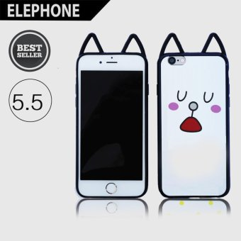 Harga CASING COVER HP JELLY SOFTCASE WITH CAT EARS IPHONE 6P