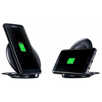 Harga Samsung Wireless Charger Stand Fast Charge for Galaxy Note 5 / S6 / S6 Edge / S7 / S7 Edge - Black
