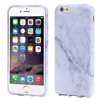 Bigskyie TPU yang Marble tekstur mencetak Cover kulit kasus untuk iPhone 6/ 6s 11,