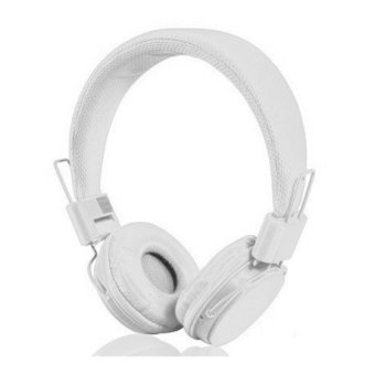 Harga Yongle Ep-05 Fashionable 3.5 Mm On-Ear Headphones With Microphone - Putih