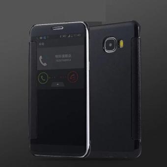 Case Samsung Galaxy A3 2017 A320 Flipcase Flip Mirror Cover S View Transparan .