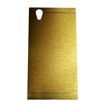 Harga Motomo Lenovo P70 Metal Hardcase / Metal Back Cover / Hardcase Backcase / Metal Case- Gold