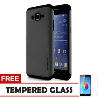 Case Samsung Galaxy J7 2016 Slim Armor - Abu + Tempered Glass