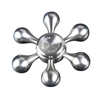 Harga Six - Arm Hand Spinner Technic Pirate Rudder Hands Spinner Metal Spinner - intl