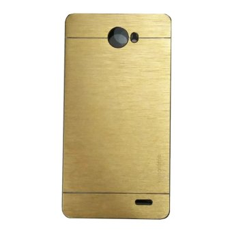 Harga Motomo For Infinix Hot Note 2 X600 Hardcase Backcase - Gold