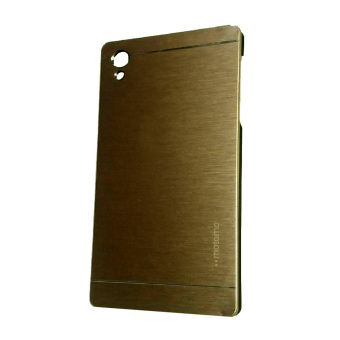 Harga Motomo Sony Xperia Z5 Premium / Plus Metal Hardcase / Metal back Cover / Hardcase Backcase / Metal Case - Gold