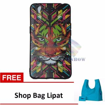 Harga Rainbow Soft Case Luxo Jungle Wild For Oppo Neo 9 A37 Softcase Macho Hewan Hutan / Case Luxo Rimba / TPU Case Silicone / Ultrathin / Softshell / Soft Case Lukisan / Case Unik / Casing Oppo - Tiger FREE Shop Bag Lipat
