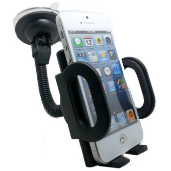 Harga OHOME Smartphone HP Car Holder Lazypod Suction Cup Tiang Besi - TOX