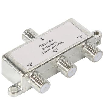 3 Cara 5-1000 mhz sinyal TV kabel antena koaksial F saklar .
