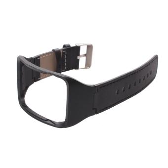 Asli Kulit tali pengikat pergelangan tangan band untuk perhiasan Samsung Gear S SM-R750 cerdas