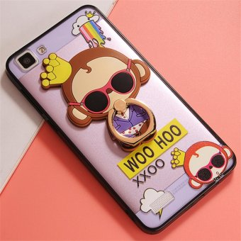 Harga Vivo Y35 Cute monkey TPU fashion phone case/Crown monkey