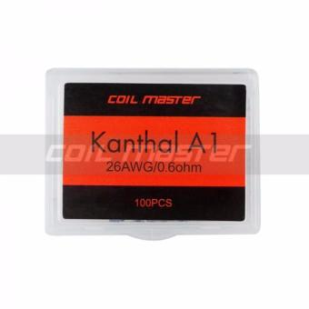 Harga Coil Master prebuilt prebuild kanthal coil wire kawat 26 awg authentic coil jadi vape vapor isi 100