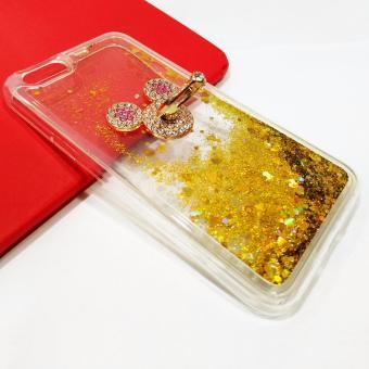 Intristore Water Gliter Plus Iring Silicon Phone Case Oppo F1s - 2