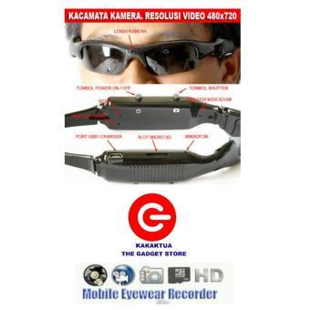 Spy Cam 720 Hd Kacamata Sm12 Memori 8gb. Source. ' Spy Optic Spy Optic Sunglass Camera - Kacamata Kamera Pengintai - Lensa Hitam - Sunglass Hidden