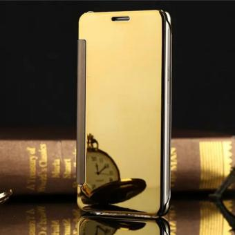 Detail Gambar Flip Mirror Wallet Clear View Cover Case for Samsung Galaxy On 7 2016 -