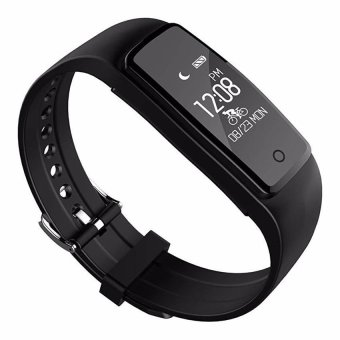 S1 Wristband Smart Watch Heart Rate Monitor Bluetooth 4.0 Waterproof Fitness Tracker Bracelet For IOS And Android - intl