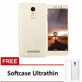 Casing Handphone Softcase Ultrathin Xiaomi Redmi Note 3 + Free Ultrathin