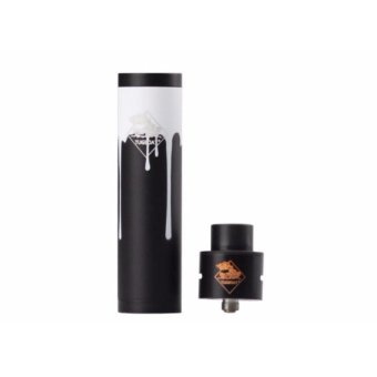 Harga Tugboat V2.5 Mechanical Mod Kit - WHITE BLACK [Clone]