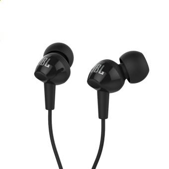 JBL C100SI In-Ear Headphones with Mic (Black) - intl