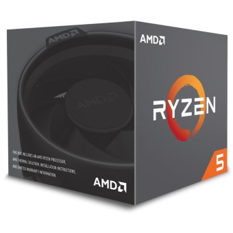 Harga AMD Ryzen 5 1600 3.2Ghz Up To 3.6Ghz Cache 16MB 95W AM4 [Box] - 6 Core - With AMD Wraith Spire 95W Cooler