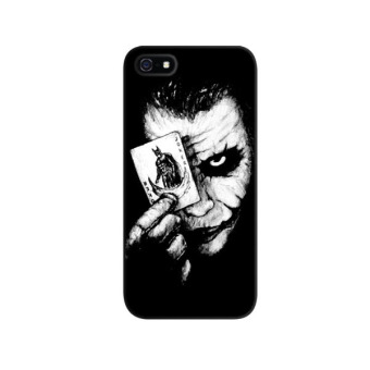 Harga Indocustomcase Joker Apple iPhone 5/5S Custom Hard Case