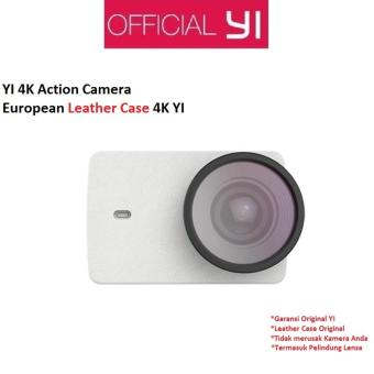 Harga Xiaomi Yi 4K Action Camera Protective Lens + Leather Case - Putih