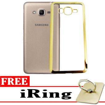 ... Softcase Silicon Jelly Case List Shining Chrome for Samsung Galaxy J2 Prime Gold