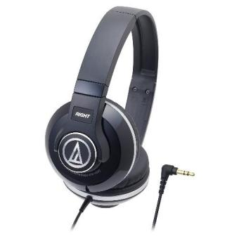 Harga Audio-Technica ATH-S500 BK Street Monitoring Headphone - Black