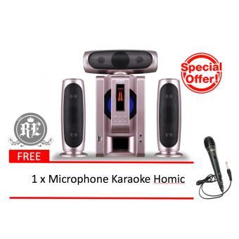 GMC 885A Multimedia Speaker Aktif ( Bluetooth & Karaoke ) 3.1ch ...