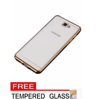 Lenovo A6600 Source Softcase Silicon Jelly Case List Shining Chrome for Samsung Galaxy .