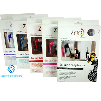 Harga Earphone Monkey Zoo