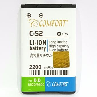 Harga COMFORT Baterai Double Power for Blackberry Gemini BB 8520 / BB 9300 C-S2 2200mAh