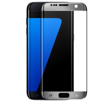 Harga Rock Curved Tempered Glass Film Screen Protector for Samsung Galaxy S7 Edge (Black)
