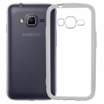 Harga Softcase Silicon Jelly Case List Shining Chrome for Samsung Galaxy V / V Plus - Silver